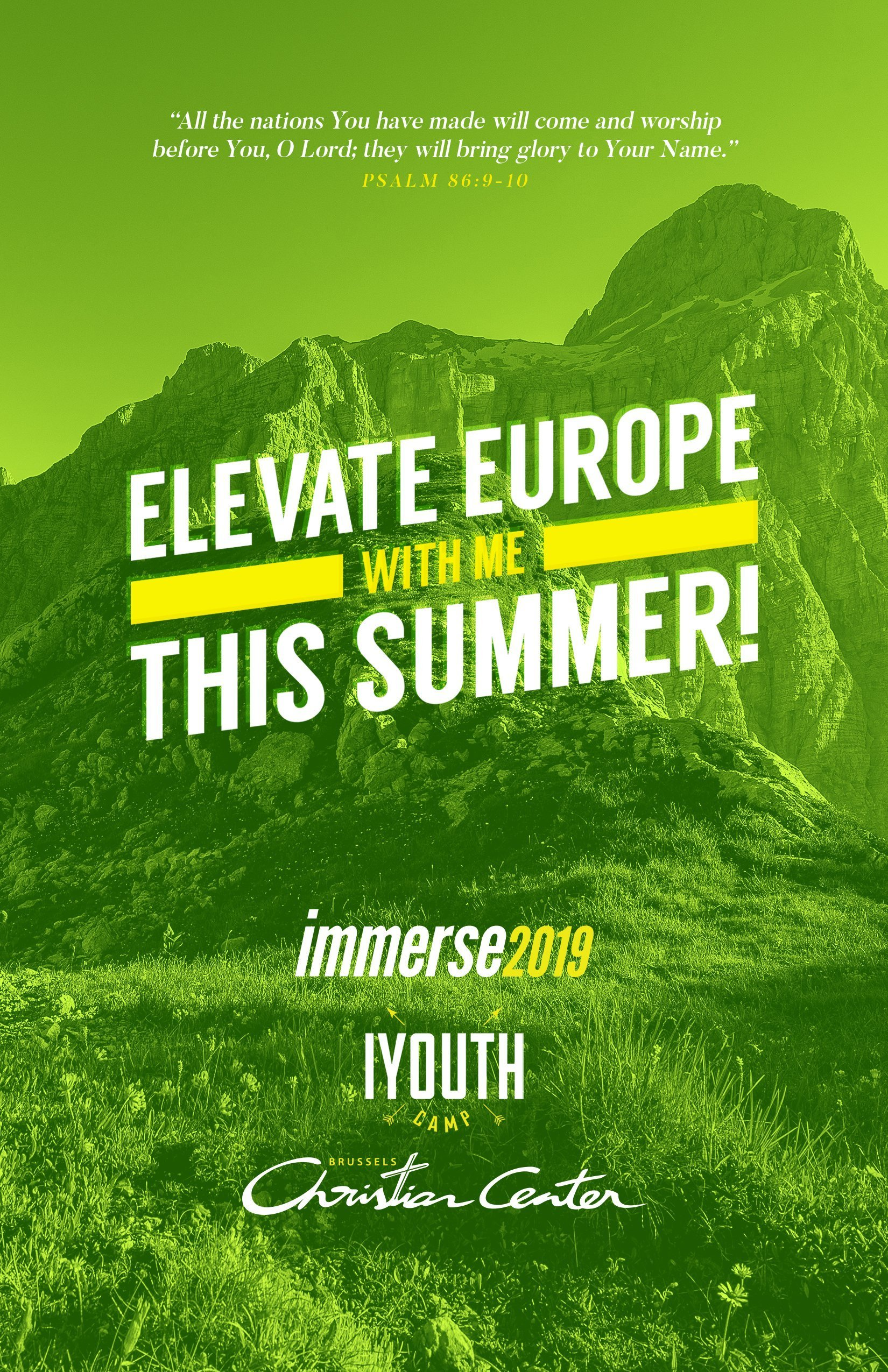 Elevate Europe With Us This Summer